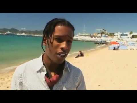 A$AP ROCKY'S EMBARRASSING MOMENT IN CANNES.