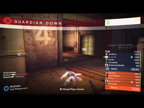 Invisible player in Destiny PvP
