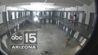 Surveillance video shows 2017 murder at Lewis Prison