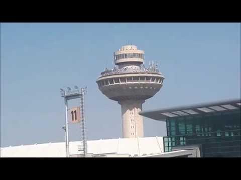 Arriving Zvartnots Airport Yerevan (EVN), Armenia/Прибытие в аэропорт Звартноц Ереван (EVN), Армения