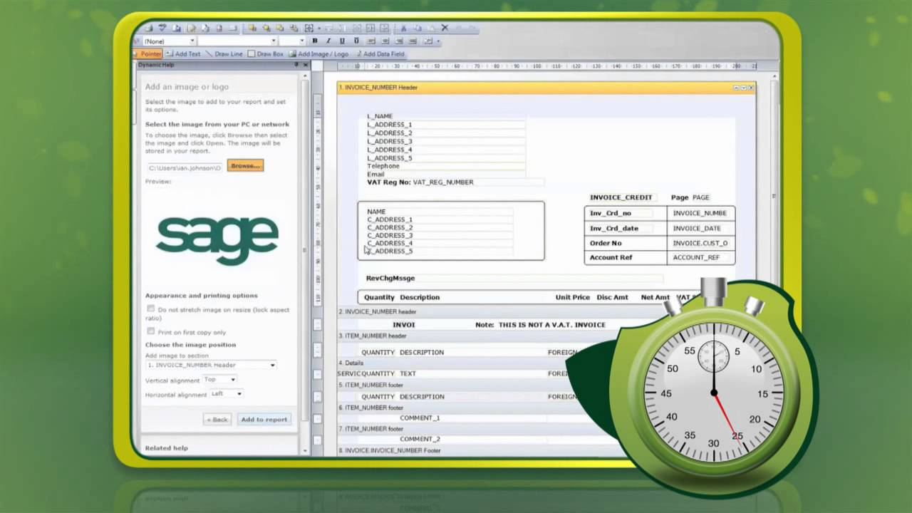 Receipt Check Word Create A Branded Invoice In  Seconds With Sage Instant Accounts  Invoice Software For Mac Free Word with Freelance Designer Invoice Template Create A Branded Invoice In  Seconds With Sage Instant Accounts    Youtube Invoice Template Google Word