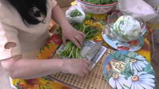 280. Видео урок по заготовке зелени на весну.