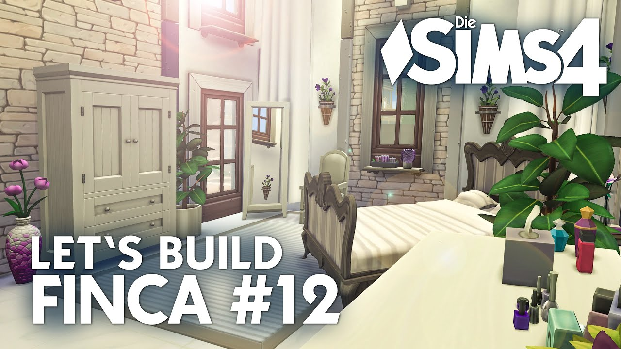 Schlafzimmer bauen + CP - Die Sims 4 Let\'s Build #12 Finca ...