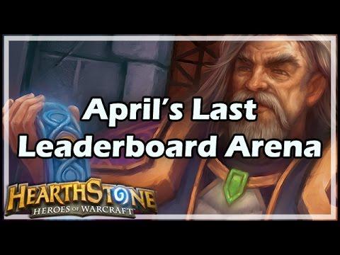 [Hearthstone] April's Last Leaderboard Arena