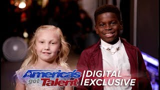 Elimination Interview: Artyon & Paige Thank America For Their Support - America's Got Talent 2017 thumbnail