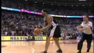 NBA - Robert Horry Game Winner Against Pistons - 2005 - Greatest Playoff Momments : 25