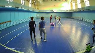 Вариант веселой разминки для детей. Большой теннис(, 2017-01-31T13:37:53.000Z)