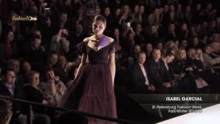 Показ   ISABEL GARCIAL, St Petersburg Fashion Week, Осень Зима 2016 17