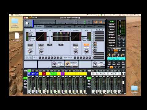 behringer x32 effects routing for side chain processing doovi. Black Bedroom Furniture Sets. Home Design Ideas
