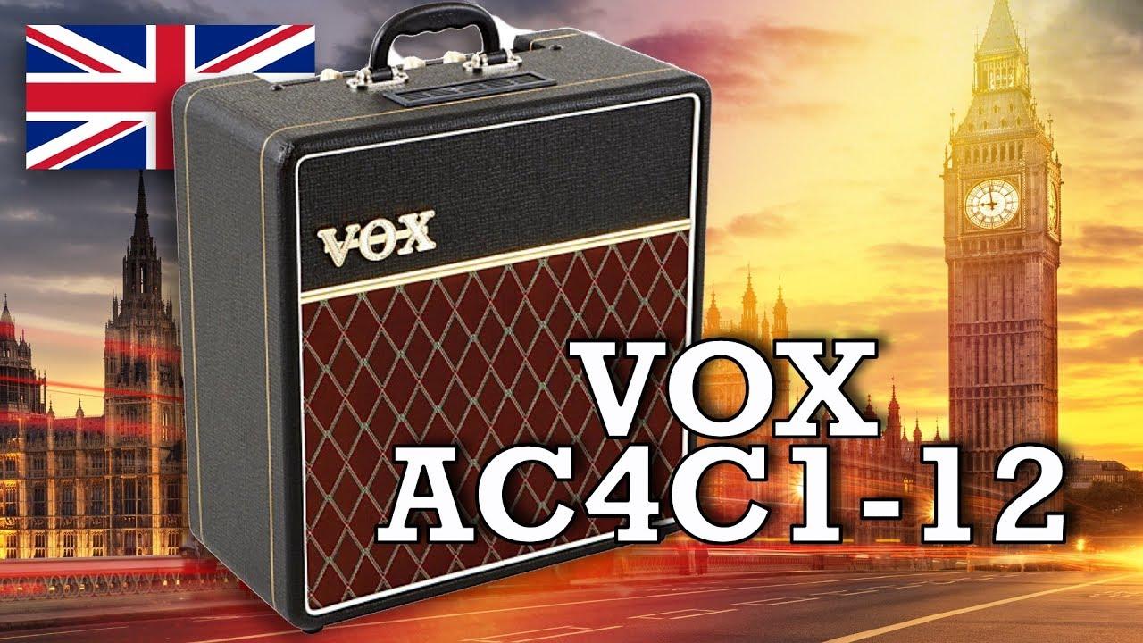 Vox AC4C1-12 - Full Walkthrough & Demo