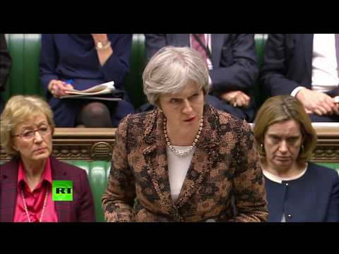 LIVE: May updates MPs on Salisbury spy attack at House of Commons