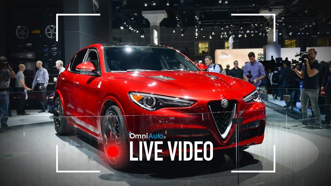 Alfa Romeo Stelvio Quadrifoglio | Salone di Los Angeles ...
