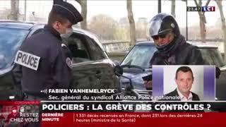 Policiers : la grêve des contrôles ?
