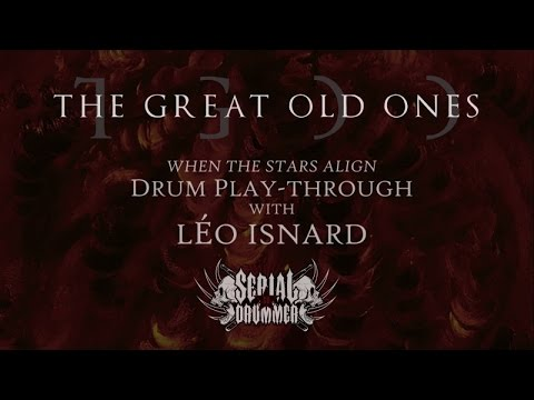 The Great Old Ones - When the Stars Align (drum playthrough)