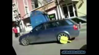 девушки за рулем авто (блондинки) видео приколы - июнь 2013 #1