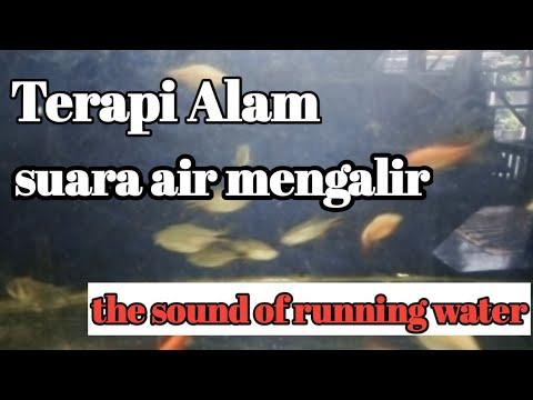 natural therapy, the sound of running water(suara air mengalir)