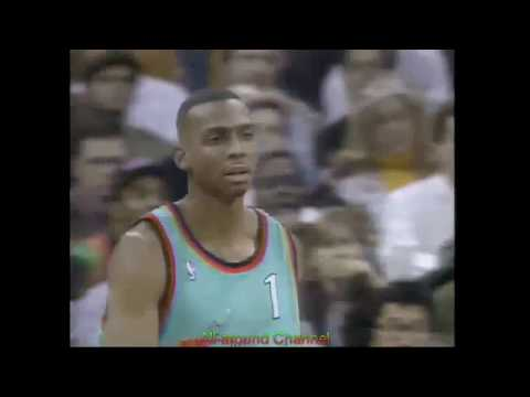 Penny Hardaway 18 Pts 7 Ast 1996 All-Star Game.