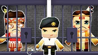 MiniWorld Nini&Kaka: Prison Jailed Break Animation