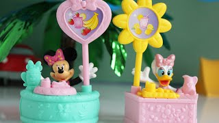 Minnie Mouse Toys Plus Minnie Mouse And Daisy Duck Episode (sippin' Smoothie Stand + Lemonade Stand)