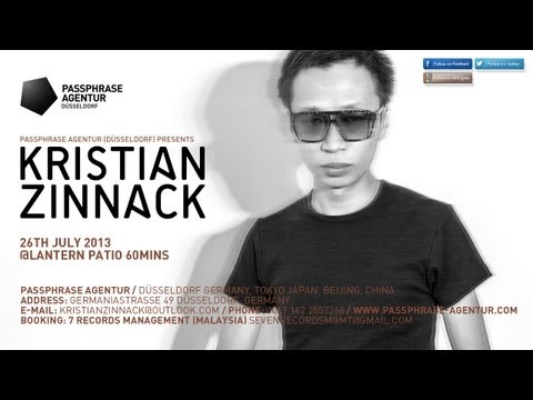 Kristian Zinnack 26th July 2013@Lantern Patio 60mins