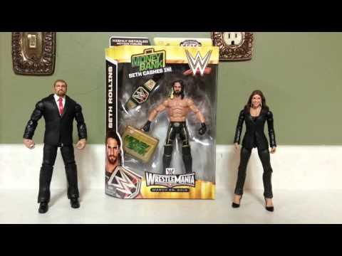 Wwe Mattel Elite Seth Rollins Toys R Us Exclusive Youtube