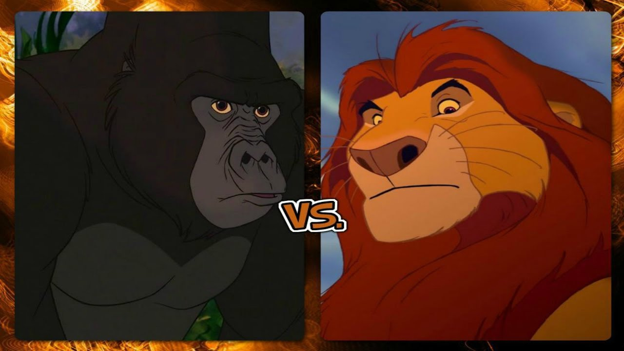 lion king simba vs zira