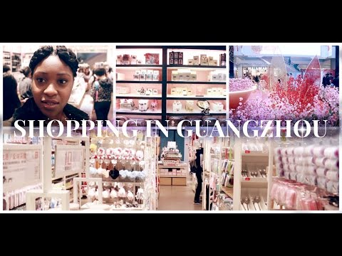 Shopping in Guangzhou, China | VICTORIA'S SECRET & Miniso