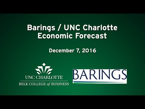 Barings/UNC Charlotte Economic Forecast – December 2016