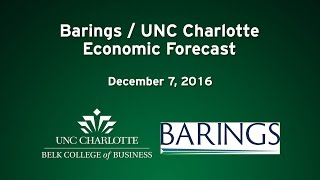 Barings/UNC Charlotte Economic Forecast – December 2016
