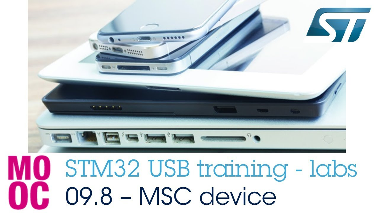 STM32 USB training - 09 8 USB MSC device labs