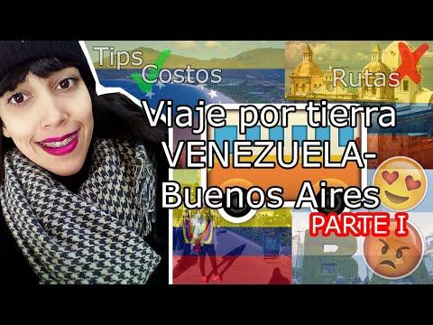 EMIGRAR DE VENEZUELA, VIAJE POR TIERRA A BUENOS AIRES PARTE I Venezuela, Colombia y Ecuador