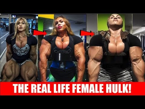 THE WORLDS BIGGEST FEMALE BODYBUILDER!! (CAN COMPETE WITH THE PRO'S)