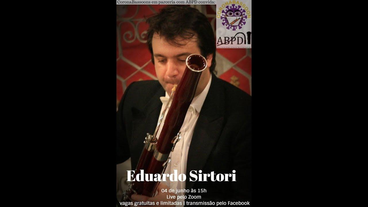 Live com o professor Eduardo Sirtori