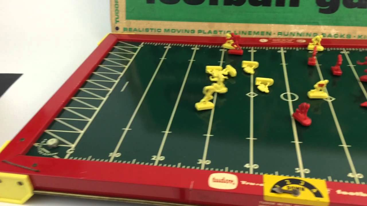 Vintage Tudor Electric Football Game Very Early 1940s Classic Set Connectibles