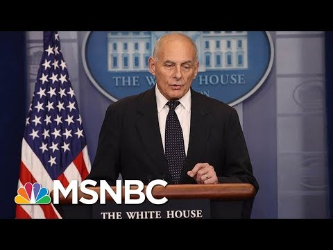 Why Chief of Staff John Kelly\'s Days In The White House Could Be Numbered | Morning Joe | MSNBC