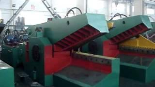 видео Аллигаторные ножницы для металлолома гидравлические