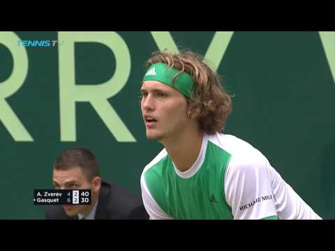 Federer and Zverev win to set up dream final | Halle 2017 Highlights Day 6