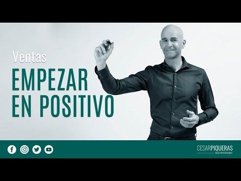 Empezar En Positivo | Ventas | César Piqueras