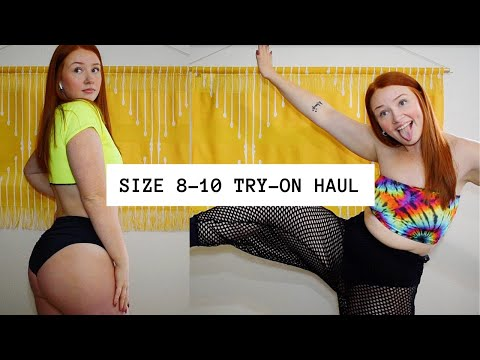 What To Wear To A Rave If You're Not Skinny PART 2 | SIZE 8-12 TRY-ON HAUL