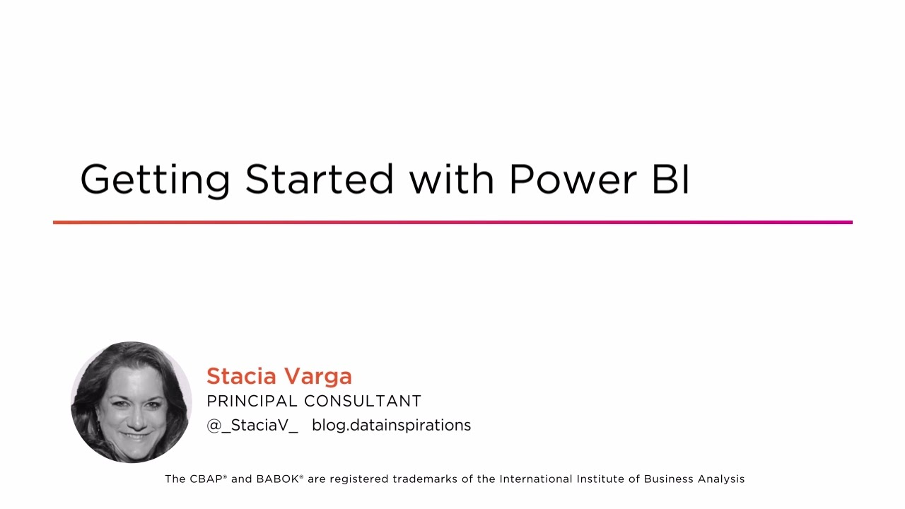 Getting Started with Power BI | Pluralsight