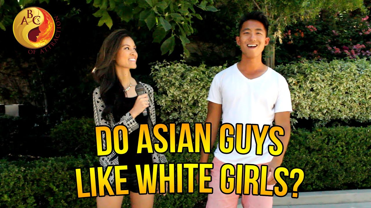 asian man dating white woman