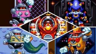 Sonic Mania Plus: Encore Mode - All Bosses (Switch, Xbox One, PS4, PC)