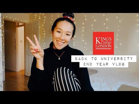 Starting University Year 2 || King's College London Vlog