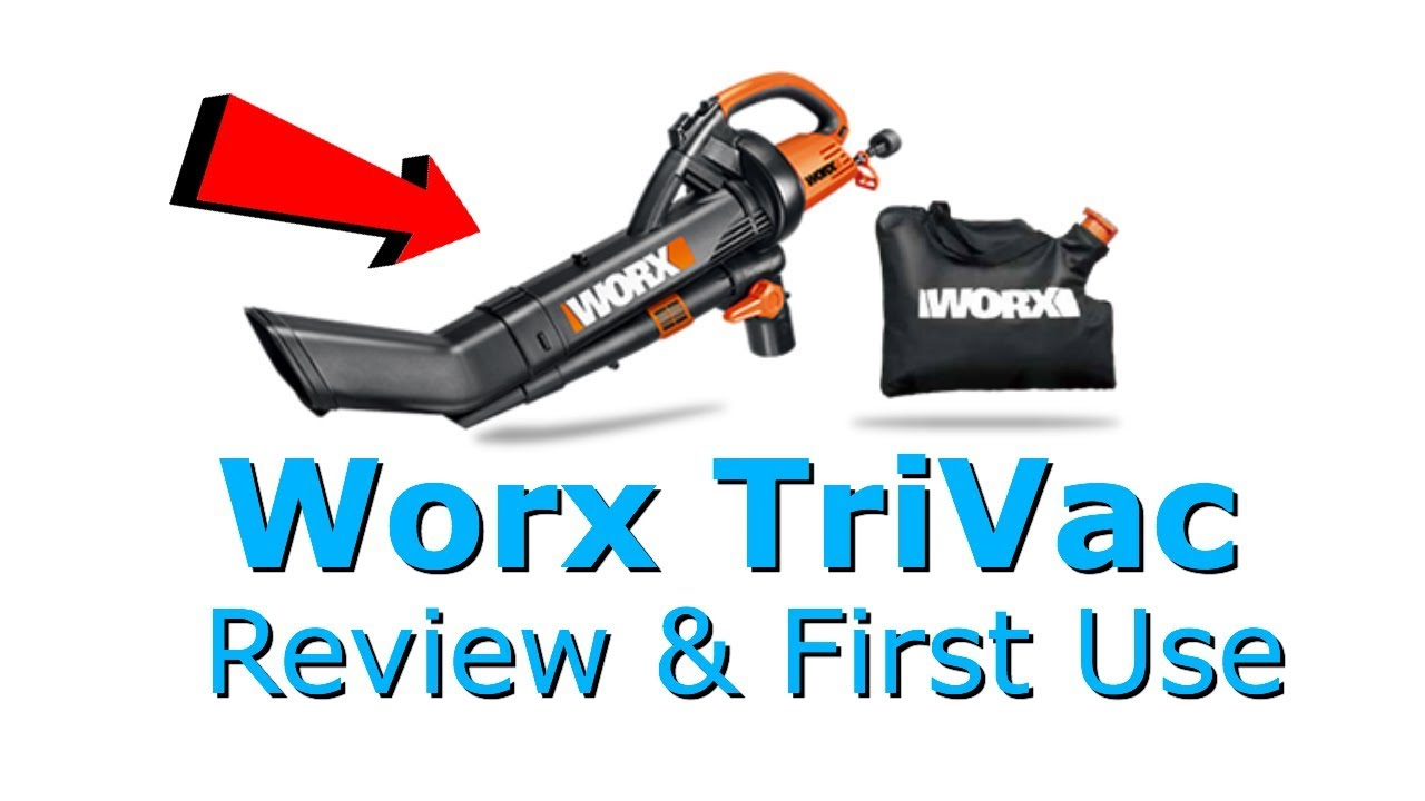 Worx Trivac 3 In 1 Leaf Blower Mulcher Vac Review And