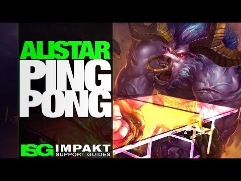 Alistar Ping Pong - SKT T1 K vs KT Bullets - impaKt Support Guides