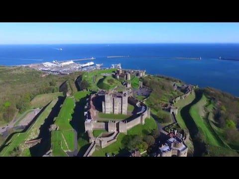 DJI Phantom 3 Dover Castle 500 metres