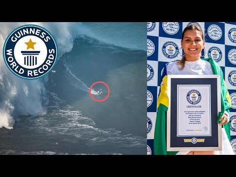 Largest wave surfed- female – Guinness World Records