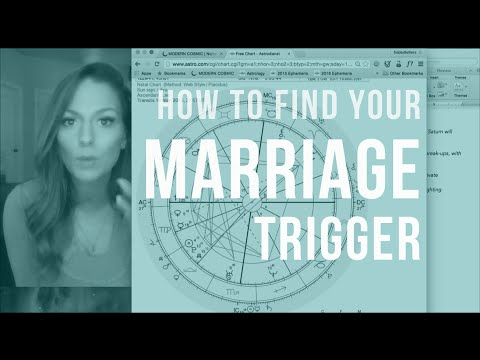 Tell Me About My Love Life! The Marriage Trigger