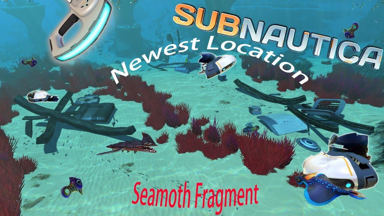 newest seamoth fragment location