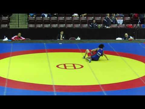 2014 Junior Pan-American Championships: 48 kg Evelin Sosa (ARG) vs. Vicmarie Requena (PUR)